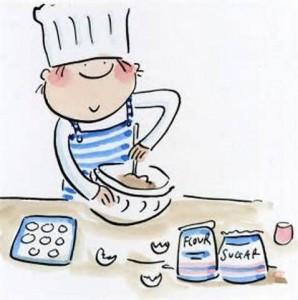 cartoon cook