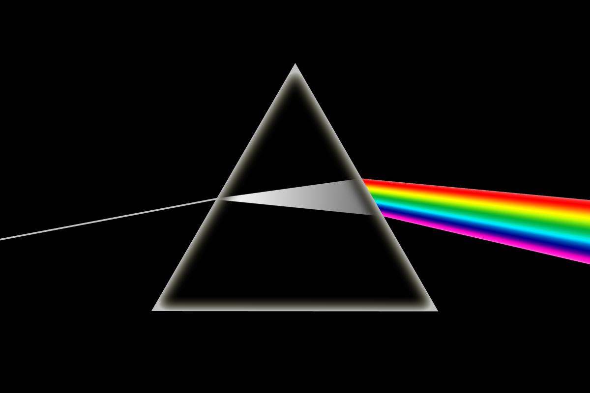 Photographer Recreates the Dark Side of the Moon Album Cover In-Camera