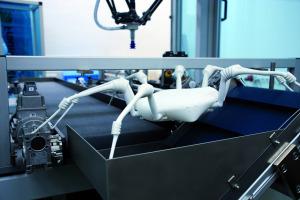 Hightech-Spinne für Gefahreneinsätze
